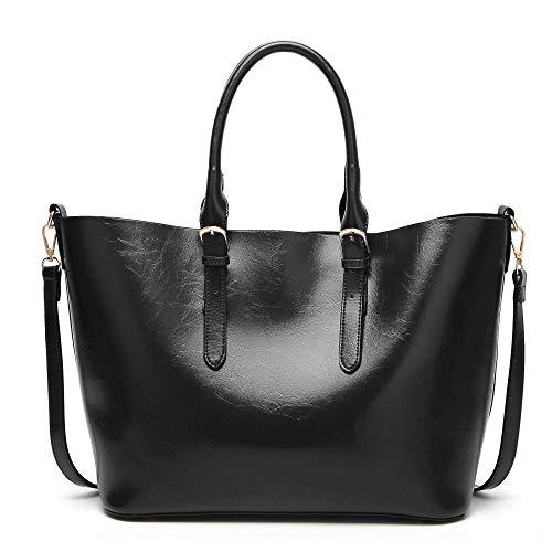 Bag Woman Simple Bucket Capacity D PU Fashion Single Shoulder Large Handbag Bag Bag Lady Hongge REOH1