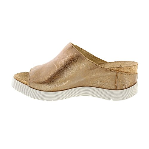 discount low shipping fee FLY London Women's WIGG672FLY Wedge Sandal Metallic cheap sale best prices cheapest price cheap online footaction cheap price 6Ncp6Srk