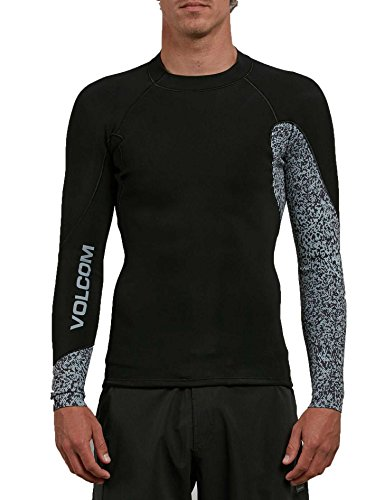 Volcom Men's Neo Revo Wetsuit Jacket, Black, Medium by Volcom