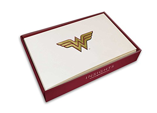 DC Comics: Wonder Woman Foil Note Cards (Set of 10) by Insights