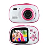 Best Digital Camera For Kids Waterproofs - Kids Waterproof Camera Rechargeable Digital for 4-10 Year Review