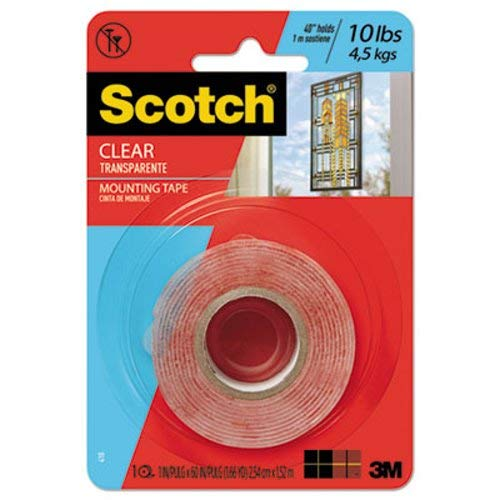 Double-Sided Mounting Tape, Industrial Strength, 1
