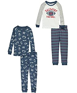 Carter's 4 Piece Football PJ Set (Toddler/Kid)