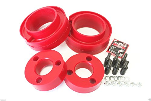 "RTZ - Fits Nissan Pathfinder Front 3"" Polyurethane Strut Lift Spacers + Rear 1.75"" Polyurethane Coil Spring Spacers 4wd USA"