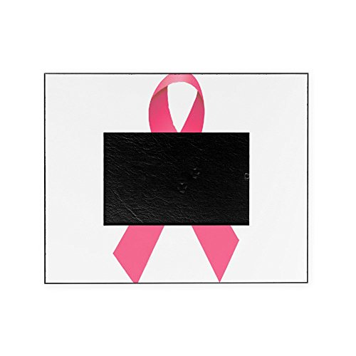 CafePress - Breast Cancer Awareness Ribbon - Decorative 8x10 Picture Frame (Awareness Breast Cancer Photo Ribbon)