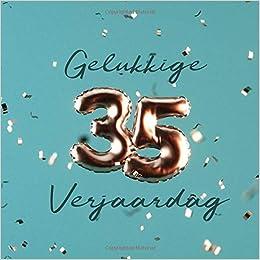 Onwijs Gelukkige 35e Verjaardag: Gastenboek voor de Verjaardag XP-02