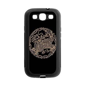 Cool Dragon Protective Gel Rubber Back Fits Cover Case for SamSung Galaxy S3