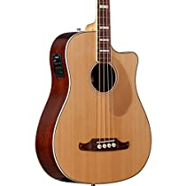 Fender Kingman SCE Acoustic-Electric Bass Guitar Natural