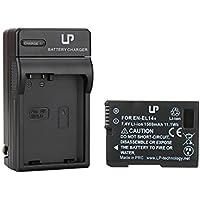 LP EN-EL14 EN EL14a Battery Charger Set, Compatible with...