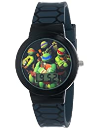 Nickelodeon teenage mutant ninja turtles Kids 'tmn4025 Digital reloj con banda de goma