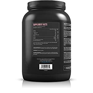 Legion Whey+ Strawberry Banana Protein Powder - Best Tasting Whey Isolate Protein Shake From Grass Fed Cows For Weight Loss, Bodybuilding, & Recovery. All Natural, Low Carb, Lactose Free. 30 Servings!