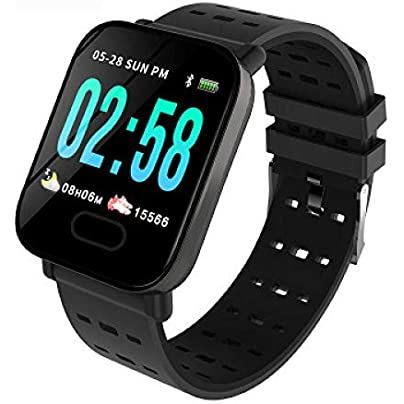 pomelogreem Sleep Monitor pedometer Color screen smart waterproof running bracelet real-time heart rate blood pressure sleep monitoring sports watch Activity Trackers Sports Watch Pedometer Estimated Price £26.74 -