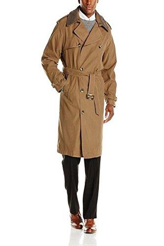 London Fog Men's Iconic Trench Coat - British Khaki