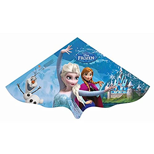 Gunther 1220 - Cerf-Volant Mono fil - La Reine Des Neiges - Elsa - Bleu