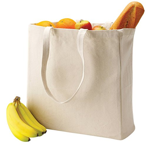 Quadra Canvas Classic Shopper Natural One