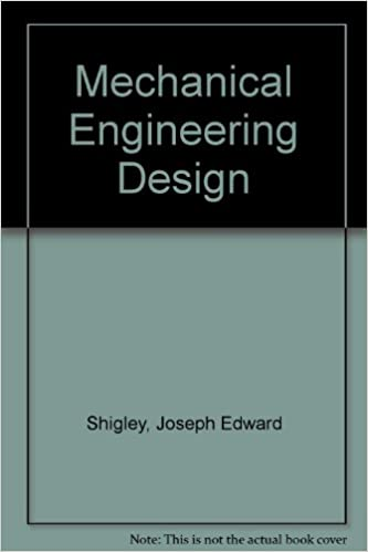 Mechanical engineering design joseph edward shigley larry d mechanical engineering design 4th edition fandeluxe Choice Image