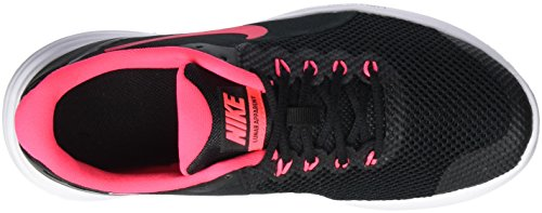 Nike Lunar apparent GS, Zapatillas de Running Para Niños Negro (Black/racer Pink/white)