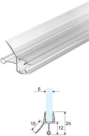 Junta vierteaguas para mampara de ducha, transparente, de 1,10 m ...