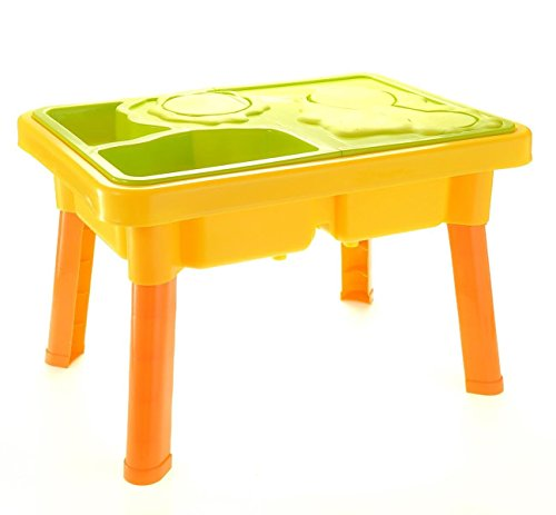 CHIMAERA Multi-Play 2-in-1 Sandbox / Sand and Water Table with Beach Playset by CHIMAERA (Image #2)