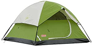 Coleman Sundome 2-Person Dome Tent, Green (2 Pack)