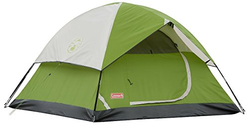 Coleman Sundome 3-Person Dome Tent, Green