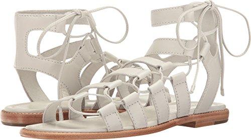FRYE Women's Blair Side Ghillie Gladiator Sandal, White, 10 M US -