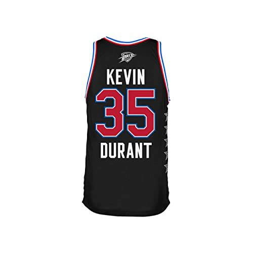 size 40 53eea 4e304 Kevin Durant Western Conference 2015 All Star Black Youth ...