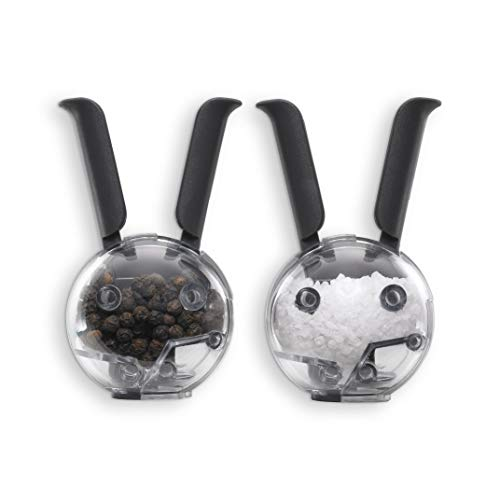 Chef'n Mini Magnetic PepperBall and SaltBall Set - Set Shaker Magnetic