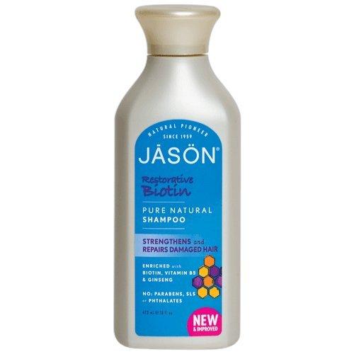 Джейсон Pure Natural шампунь, Восстановительная биотин, 16 унций