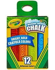 Crayola Washable Sidewalk Chalks