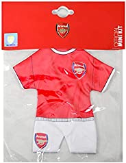 Arsenal FC Mini Kit Car Hanger (One Size) (Red)