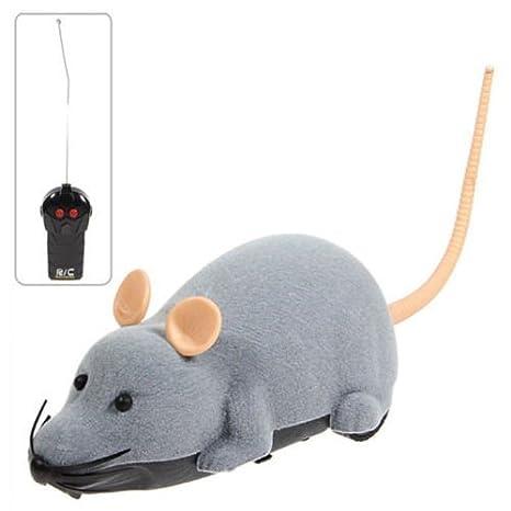 TO_GOO Ratón teledirigido para ratón RC con Regalo de Juguete con Control Remoto para niños Mayores