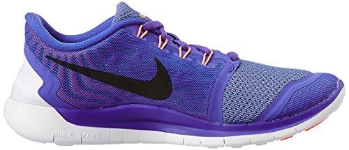 Nike Free 5.0 Damen Laufschuhe Mehrfabig (Lila/Schwarz)