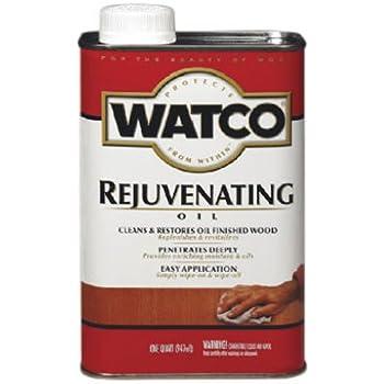RUST-OLEUM 66041 Watco One Quart Rejuvenating Oil