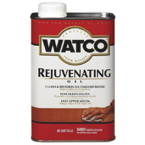Watco 66041 Rejuvenating Oil, Quart (Using Vinegar And Dawn To Clean Shower)