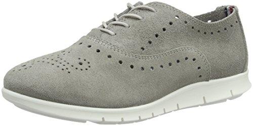 Grey Sneakers 2b Hilfiger Gris Femme Tommy 007 Light Basses M1285iro twB8S8qa