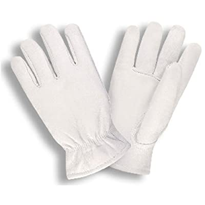 G & F 3031L Premium Goatskin Leather Winter Work Gloves, Driving Gloves, Rayon Lining, Men's Large, 1-Pair