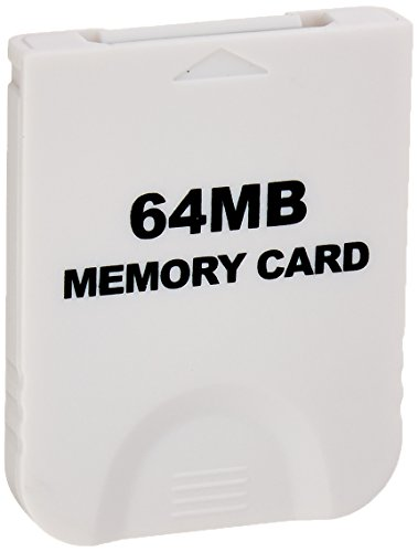 GameCube Compatible 64MB Memory Card with 1019 Blocks (Gamecube Memory Card 64)