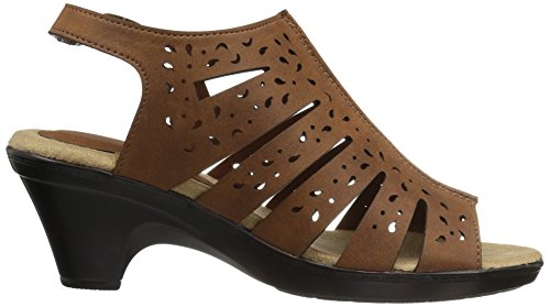 Tan Women's Dark Kamber Easy Heeled Street Sandal xvRBBq17