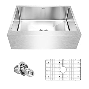 41i5%2B-2HADL._SS300_ 75+ Beautiful Stainless Steel Farmhouse Sinks For 2020