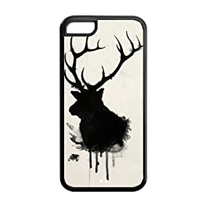 Tony Diy 5C genders cell phone case covers, Deer Hard likely Cover case cover wife for iPhone 2QkfoutFJ2t 5C &hong hong customize