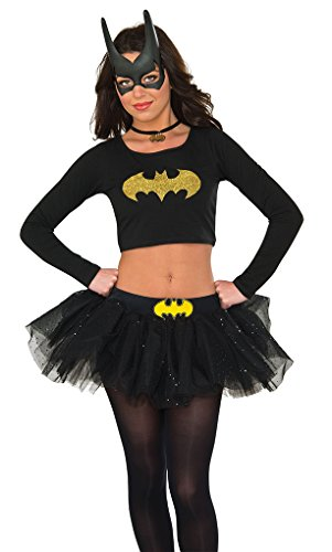 Rubie's Costume Co Women's Top, Batgirl, Small/Medium -