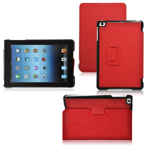 Ionic Hybrid Leather Case Cover with stand for iPad Mini