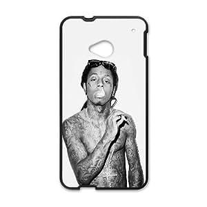 HTC One M7 Cell Phone Case Black hg33 lil wayne music hiphop singer artist P5S8HR