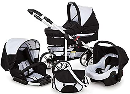 SaintBaby carritos X-Move GO 2in1 3in1 Set cochecito de bebé Blanco ...