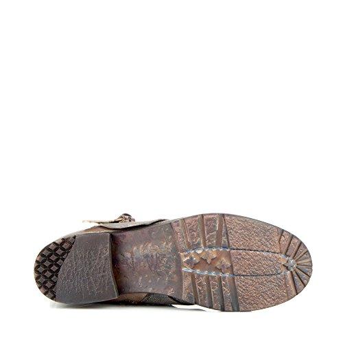 Felmini - Zapatos para Mujer - Enamorarse con Simona P604 - Botas Cowboy & Biker - Genuine Cuero - Varios colores - 0 EU Size