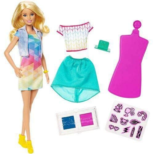 Barbie Criações Com Carimbos Mattel Loira