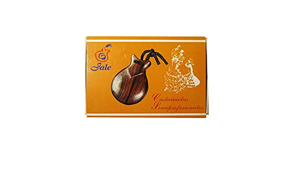 Amazon.com: Flamenco Castanets Jale Pollopas Spanish Flamenco castanets made of plastic color black for beginners size 5 adult woman castañuelas flamencas ...
