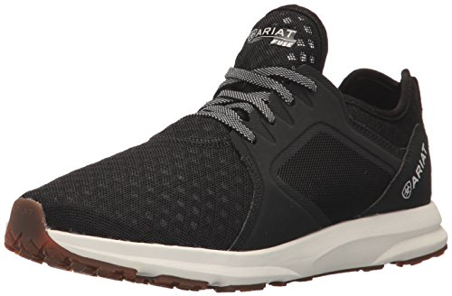 Ariat Women's Fuse Athletic Shoe, Black Mesh, 6 B US by Ariat