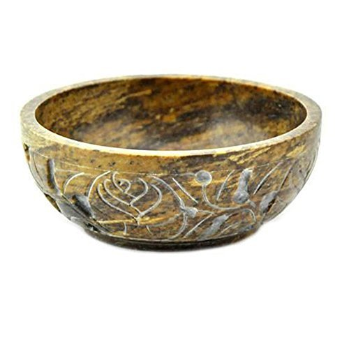 NEW Soapstone Scrying and Smudge Bowl (Scrying - Bowls & Mirrors)